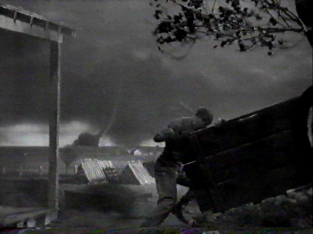wizard of oz tornado scene