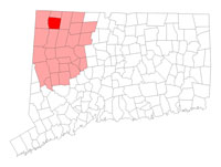 Canaan Connecticut map