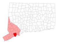 Fairfield Connecticut map