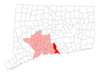 Madison CT map