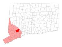 Monroe Connecticut map