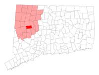 Morris Connecticut Map