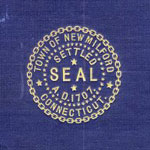 New Milford Connecticut town seal
