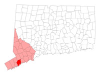 Norwalk Connecticut map