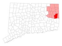 Plainfield Connecticut map