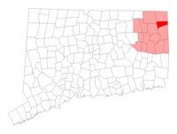 Putnam Connecticut map
