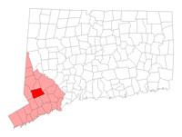 Redding Connecticut map