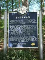 Sherman Connecticut Historic Marker