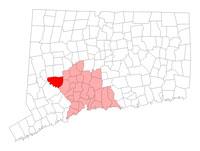 Southbury CT map