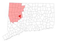 Thomaston Connecticut map