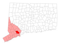 Trumbull Connecticut map