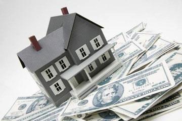 house on money