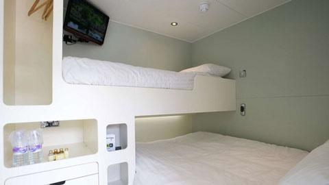 snoozebox interior