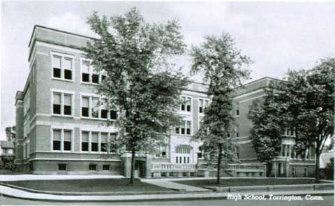 Torrington High School in the Vogel building