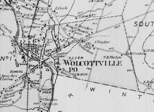 Wolcottville Map