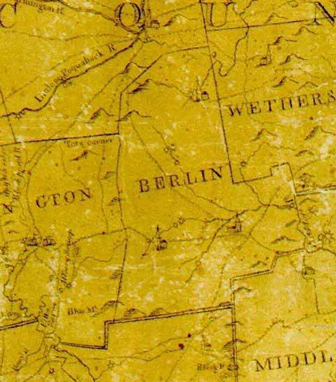 Connecticut Map - 1792