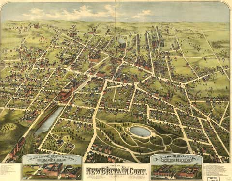 New Britain Map - 1775