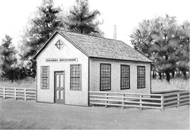 Hendey's Brothers first shop shop 1871