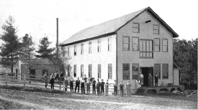 Hendey's Machine Co second shop 1873